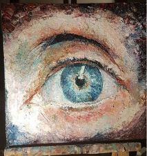 For sale (195€): Mouth I. Oil on wood. Mail me if interested (acoilpaintings@outlook.com)
